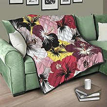 Flowerhome Colourful Flowers Bedspread Quilt Bed