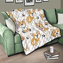 Flowerhome Dog Quilt Bedspread Bed Throw Sofa