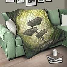 Flowerhome Forest Jungle Quilted Bedspread Bed