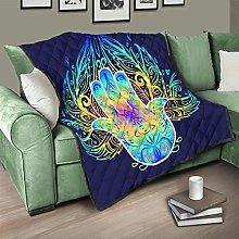 Flowerhome Hand Bedspread Quilt Bed Throw Sofa