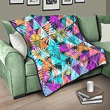Flowerhome Leaves triangle bedspread, bedspread,