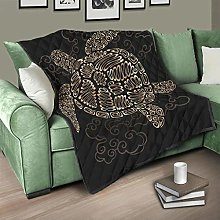 Flowerhome Tortoise Bedspread Quilt Bed Throw Sofa