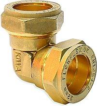 Flowflex P801.02 Compression Equal Elbow, 8 mm,