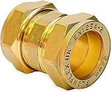 Flowflex P901.02 Compression Straight Coupling, 8