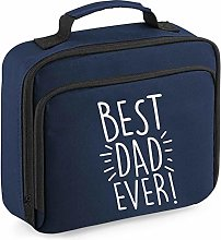 Flox Creative Navy Lunch Cooler Bag Best Dad Ever!
