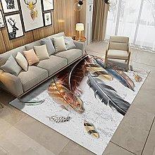 Fluffy Bedroom Carpet Shaggy Living Room Rug Anti