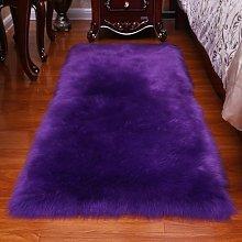 Fluffy Faux Fur Rug Shaggy Sheepskin Area Small