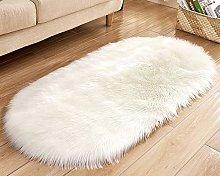 Fluffy Faux Fur Sheepskin Rugs, Soft Shaggy