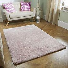 Fluffy Rug Blush Pink SUPER SOFT Bedroom Living
