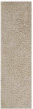 Fluffy Rug Runner Beige Shaggy Long Carpet for
