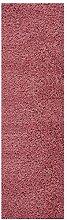 Fluffy Rug Runner Blush Pink Shaggy Long Carpet