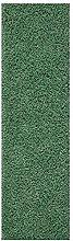 Fluffy Rug Runner Sage Green Shaggy Long Carpet