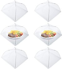 Fly cover, set of 6 food protection covers,