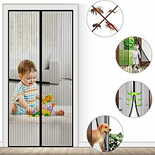 Fly Screen Door Insect Screen Magnet Fly Curtain -