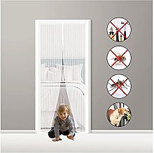 Fly Screen Door Magnetic,150x210cm Magnetic Insect