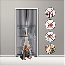 Fly Screen Door Magnetic,165x200cm Magnetic Insect