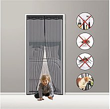 Fly Screen Door Magnetic,90x190cm Magnetic Insect