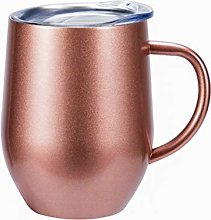 FLY SPRAY Egg Shape Stainless Steel Cup Thermos