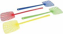 Fly Swats 4pk Large Square-Headed Fly swats with