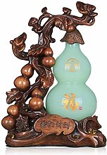 FLYAND Feng Shui Statue Exquisite Jade Gourd