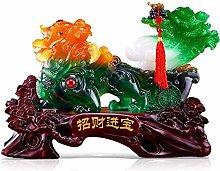 FLYAND Sculpture Figurines Feng Shui Lucky