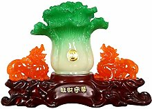 FLYAND Sculpture Figurines Lucky Cabbage