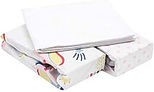 FlyIdeas Next to Me Crib Fitted Sheets 3 Pcs Set