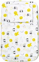 FlyIdeas Next to Me Crib Fitted Sheets 4 Pcs Basic