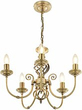 Flynt 5-Light Candle Style Chandelier Astoria