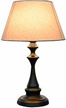FLZ Desk Lamp Bedroom Bedside Lamp Atmosphere