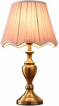 FLZ Desk Lamp Bedroom Bedside Lamp Electroplated