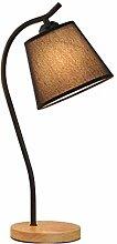 FLZ Simple Nordic Desk Lamp Night Light, Solid