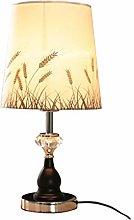 FLZ Table Lamp Bedroom Bedside Lamp Atmosphere