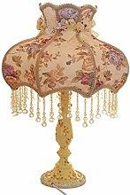 FLZ Table Lamp Bedroom Bedside Lamp Dimmable Warm