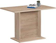 FMD Dining Table 110cm Oak - Beige