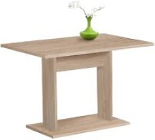 FMD Dining Table 110cm Oak Tree - Beige
