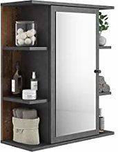 FMD furniture Mirror cabinet, Particle Board,