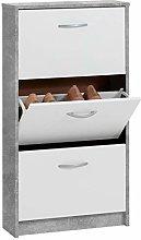 FMD furniture Shoe Cabinet, Wood, 59 x 105 x 17 cm