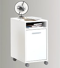 FMD Mobile Filing Cabinet with Open Compartment