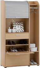 FMD Profi 44 Cabinet WxHxD 102.0x185.0x39 cm Beech