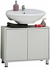 FMD Under- Sink Bathroom Cabinet Zamora 4, w/h/d