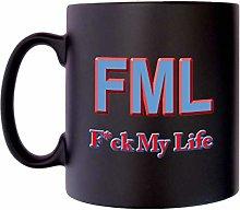 FML F.ck My Life Text Speak Klassek Rude Adult Mug