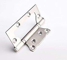 FMOGE 10 Pcs Stainless Steel Door Hinges,Silent