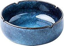 FMOGG Ceramic Ashtray,Desktop Ash Tray for Office