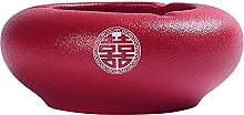 FMOGG Chinese Style Ceramic Ashtray,Ash Tray for