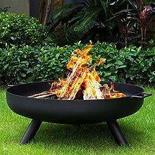 FMXYMC Outdoor Fire Bowl Wood Burning, Extra Large