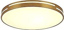 FMY Flush Mount Ceiling Light Fixture,Simple Round