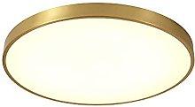FMY Led Flush Mount Ceiling Light Fixture,Golden