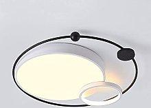 FMY Led Flush Mount Ceiling Light,Iron Art