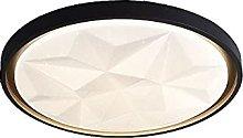 FMY Simple Round Led Ceiling Lamp, Flush Mount